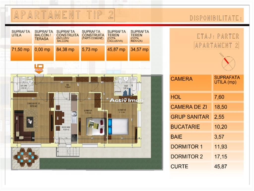 COMISION ZERO  3 camere nou  Central  Pompieri
