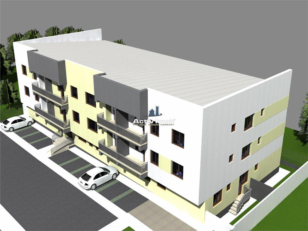 Bloc NOU, central , apartament 3 camere
