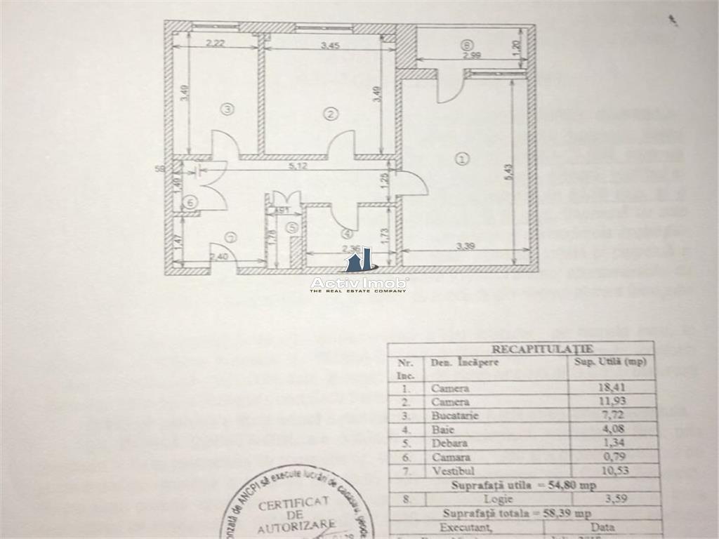 2 camere, decomandat, 1981, 3/10, Iancului 2 min metrou
