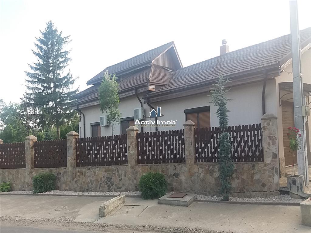Casa P+1, 5 camere, teren 6800 mp ,Zoresti  10 km de Buzau