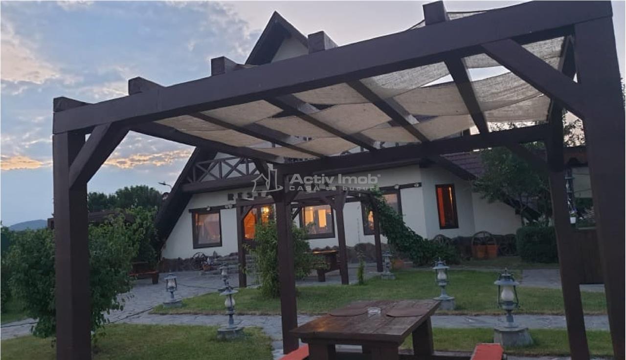Afacere la Cheie  Restaurant/Pensiune+ CASA 4 Camere Rotbav Brasov
