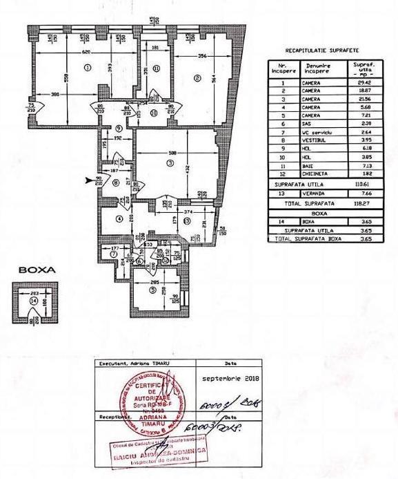 Piata Universitatii   apartament 5 camere   renovat lux   118 mp