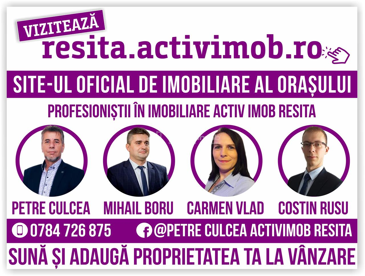 Resita, Garsoniera, Mobilata + Utilata, Lunca