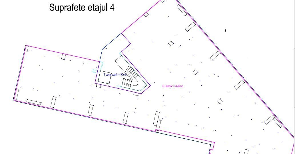 spatii birouri intre 52 si 507mp, Dacia  Mosilor  Eminescu