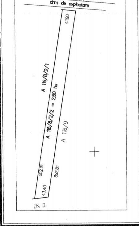 Constanta teren extravilan 25000mp