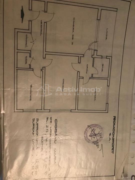 3 Camere Drumul Taberei metrou Favorit Mobilat si Utilat