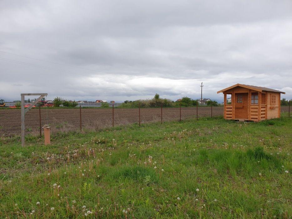 Teren Sanpetru+cabana lemn