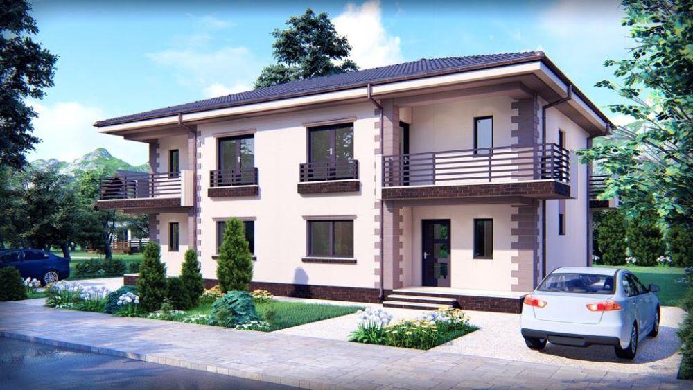 Duplex 4 camere, P+E, Sanpetru-Bod