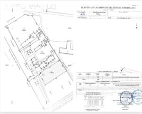 Teren Pipera cu autorizatie de constructie 4min Promenada mall