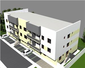 Bloc NOU CENTRAL langa POMPIERI,apartamente 3 camere