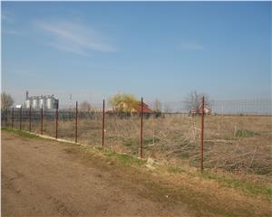 Teren Intravilan4624mp  imprejmuit cu gard metalic  15 euro mp