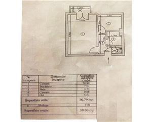 Apartament Centru 1 cam 39mp