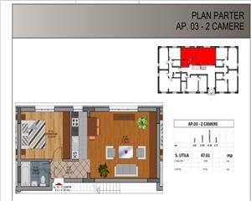 Vanzare Apartament 2 Camere,Rahova, Direct Dezvoltator comision 0