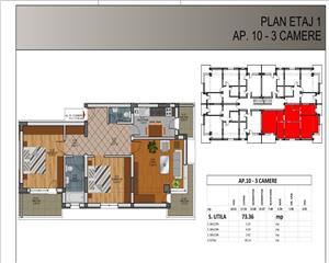 Vanzare Apartament 3 camere, Rahova, Direct Dezvoltator, comision 0