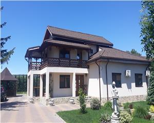 Casa P+1, 5 camere, teren 7000 mp ,Zoresti, comuna Vernesti