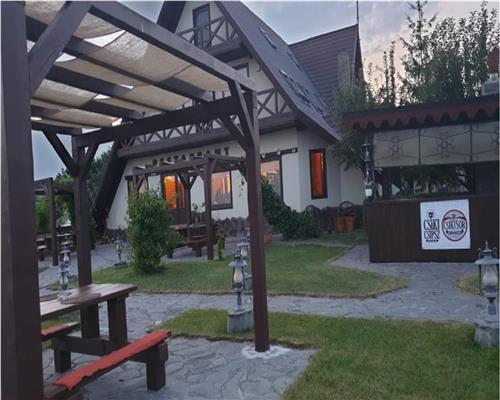 CASA 4 Camere+ Pensiune/ Restaurant- Afacere la Cheie  Rotbav Brasov