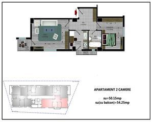 2 camere dec 54mp Antiaeriana- Sos. Alexandriei