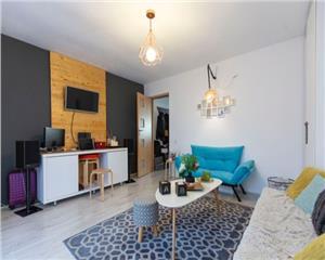 Apartament 1 camera + gradina, finisat LUX, zona str. Frunzisului