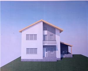 Casa noua individuala P+1E+pod Cal Romanului, 3km centru BC, Comision0