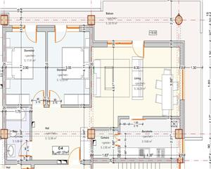 Apartament 3 camere - Imobil nou in zona verde- Penthouse-pret redus