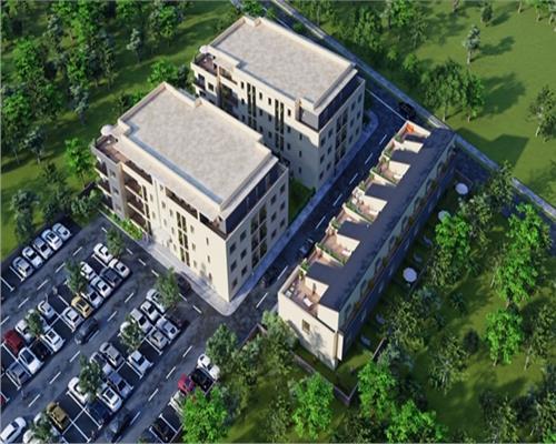 Titanul Nou-Parcul Bratarii,etaj 3,suprafata 73 mp+terasa35 mp