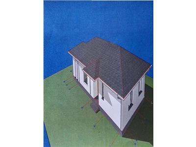 Casa individuala 118 mp- 5 ari teren- Zona verde- Sud