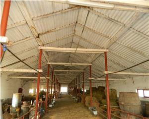 Hala prod 810 mp   platforma betonata  teren  2500 mp   imprejmuit