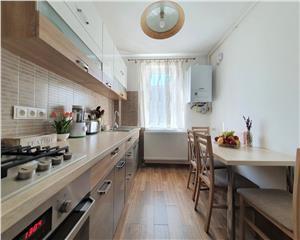 Apartament 2 camere etaj 1 renovat lux zona Marinescu