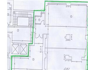 spatiu birouri 232mp, 2 bai, chicineta, Eminescu