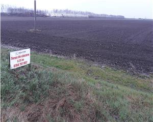 teren extravilan, 3,25 ha, deschidere 56 m, 3 km de Buzau