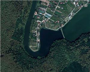 teren 2100 mp, intravilan, malul lacului, Branesti, 0% comision
